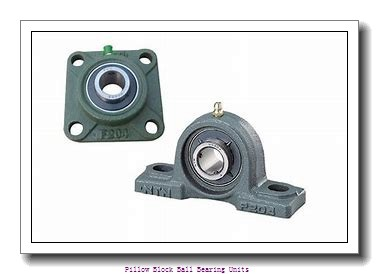 1.438 Inch | 36.525 Millimeter x 1.938 Inch | 49.225 Millimeter x 2.125 Inch | 53.98 Millimeter  Sealmaster MP-23T DRT Pillow Block Ball Bearing Units