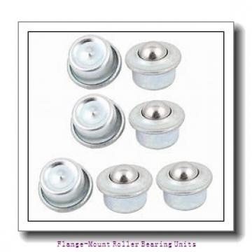 2-3/16 in x 6.4500 in x 10.7500 in  Dodge F4BC203E Flange-Mount Roller Bearing Units