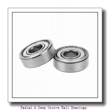 General 3688-301 Radial & Deep Groove Ball Bearings
