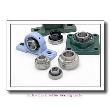 3.4375 in x 13 to 14-1/2 in x 6.38 in  Dodge P2BSD307 Pillow Block Roller Bearing Units