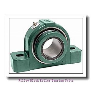6.0000 in x 17.38 to 19.13 in x 9 in  Dodge P4BE600R Pillow Block Roller Bearing Units