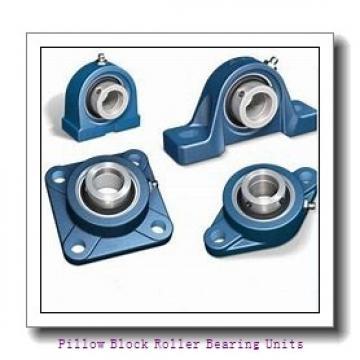 2.188 Inch | 55.575 Millimeter x 2.938 Inch | 74.625 Millimeter x 2.5 Inch | 63.5 Millimeter  Dodge P4B-S2-203R Pillow Block Roller Bearing Units