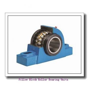 2.6875 in x 7.81 to 8.44 in x 2.45 in  Dodge P2BUN2211 Pillow Block Roller Bearing Units