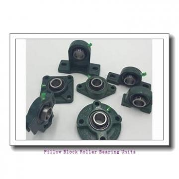 2.5000 in x 9.27 to 10-1/4 in x 4 in  Dodge P4BDI208R Pillow Block Roller Bearing Units