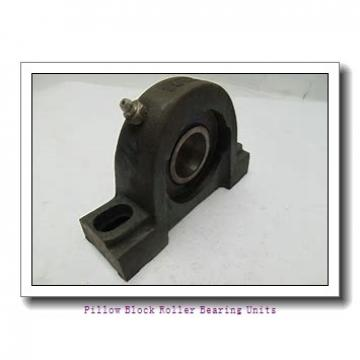 6.0000 in x 19 to 21.63 in x 9 in  Dodge P4BTFXT600R Pillow Block Roller Bearing Units