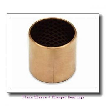Oilite AA832-12B Plain Sleeve & Flanged Bearings