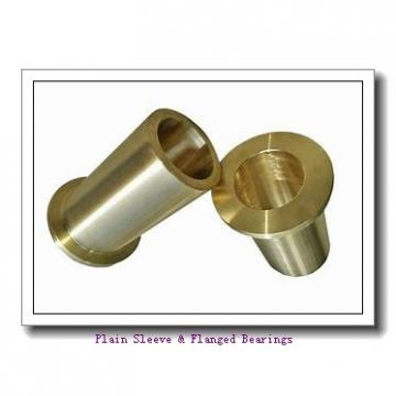 Bunting Bearings, LLC AA040704 Plain Sleeve & Flanged Bearings