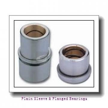 Oilite AA744-B Plain Sleeve & Flanged Bearings