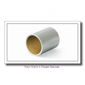 Bunting Bearings, LLC AA2202-1 Plain Sleeve & Flanged Bearings