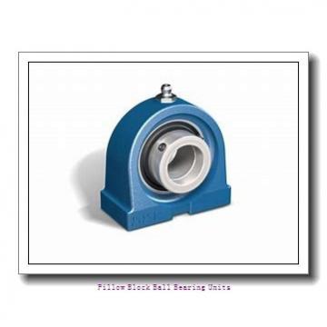 1.813 Inch | 46.05 Millimeter x 2.031 Inch | 51.59 Millimeter x 2.75 Inch | 69.85 Millimeter  Sealmaster SP-29 Pillow Block Ball Bearing Units