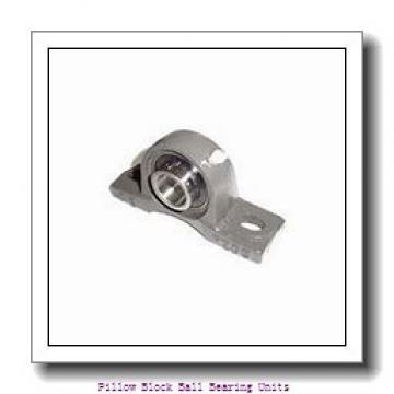 1.188 Inch   30.175 Millimeter x 1.5 Inch   38.1 Millimeter x 1.875 Inch   47.63 Millimeter  Sealmaster EMP-19C Pillow Block Ball Bearing Units