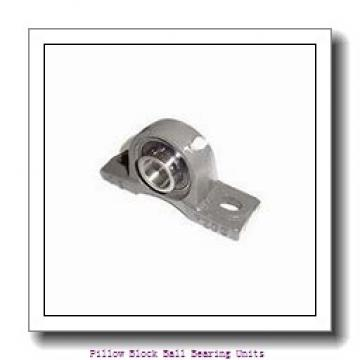 1.875 Inch | 47.625 Millimeter x 2.031 Inch | 51.59 Millimeter x 2.188 Inch | 55.575 Millimeter  Sealmaster NPL-30C Pillow Block Ball Bearing Units