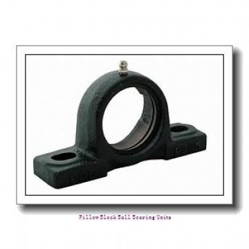 2.188 Inch | 55.575 Millimeter x 2.563 Inch | 65.09 Millimeter x 2.75 Inch | 69.85 Millimeter  Sealmaster MFP-35C Pillow Block Ball Bearing Units