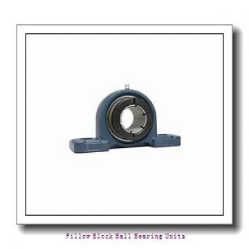 1.688 Inch | 42.875 Millimeter x 2.375 Inch | 60.325 Millimeter x 2.125 Inch | 53.98 Millimeter  Sealmaster NPD-27C Pillow Block Ball Bearing Units
