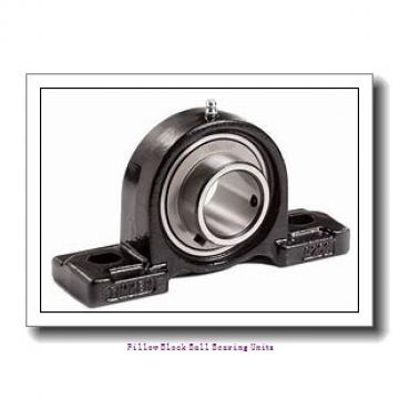1.688 Inch | 42.875 Millimeter x 1.938 Inch | 49.225 Millimeter x 2.313 Inch | 58.75 Millimeter  Sealmaster EMP-27TC Pillow Block Ball Bearing Units