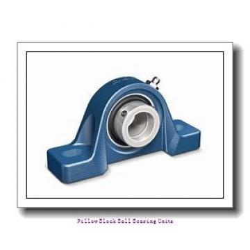 2.688 Inch | 68.275 Millimeter x 3.5 Inch | 88.9 Millimeter x 3.75 Inch | 95.25 Millimeter  Sealmaster MSFPD-43C Pillow Block Ball Bearing Units