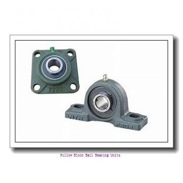 3.438 Inch | 87.325 Millimeter x 3.781 Inch | 96.037 Millimeter x 4 Inch | 101.6 Millimeter  Sealmaster MFP-55C Pillow Block Ball Bearing Units