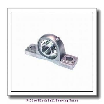 0.938 Inch | 23.825 Millimeter x 1.375 Inch | 34.925 Millimeter x 1.75 Inch | 44.45 Millimeter  Sealmaster SP-15C Pillow Block Ball Bearing Units