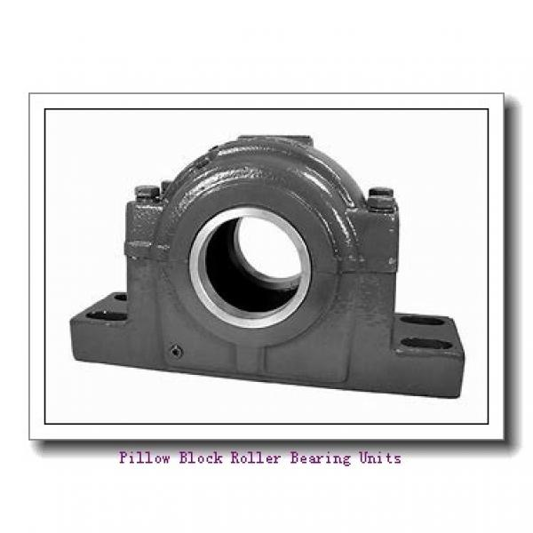 2.4375 in x 9.27 to 10-1/4 in x 4 in  Dodge P4BDI207RE Pillow Block Roller Bearing Units #1 image
